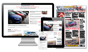 Automotive News Canada - Print & Digital + Online Access
